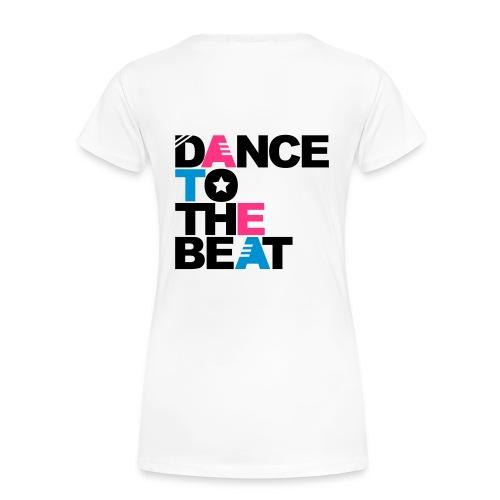 girls white t.shirt (low volume kiils music) - Women's Premium T-Shirt