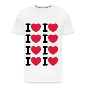 I heart I heart I heart - Männer Premium T-Shirt