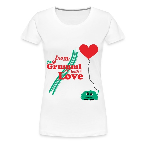 From Grumml with Love (w) - Frauen Premium T-Shirt