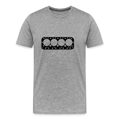 Head gasket Black - Men's Premium T-Shirt