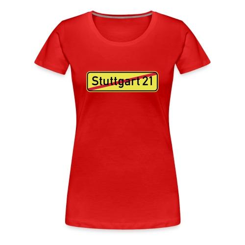 Stuttgart 21 - Frauen Premium T-Shirt