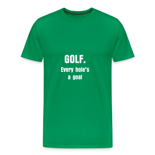 Golf2 - Men's Premium T-Shirt