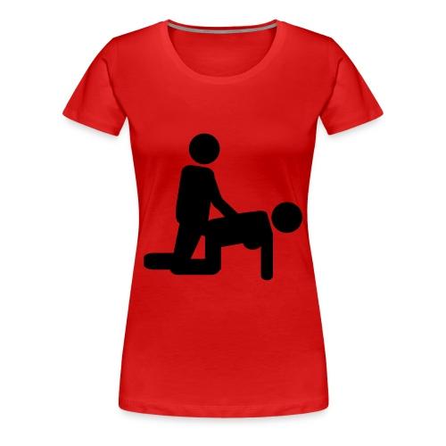 massaggio lombale - Maglietta Premium da donna
