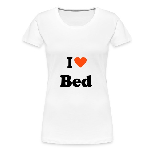 Bed - Women's Premium T-Shirt