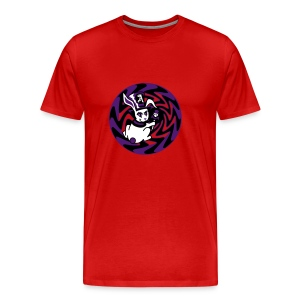 Rabbit Hole-Purple - Men's Premium T-Shirt
