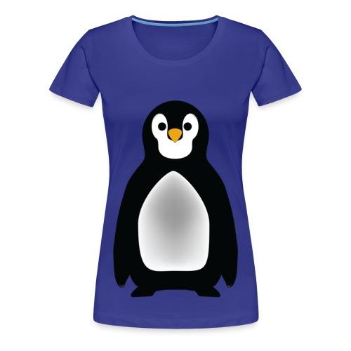 Women Creative Penguin Logo - Women's Premium T-Shirt