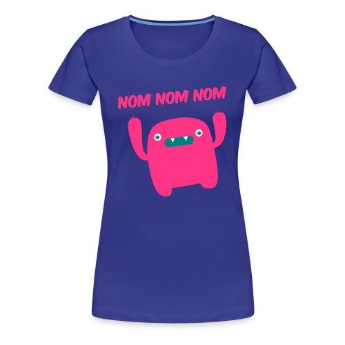 Nom Nom Nom - Women's Premium T-Shirt