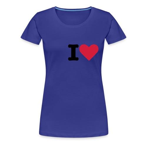Tee shirt F. - T-shirt Premium Femme
