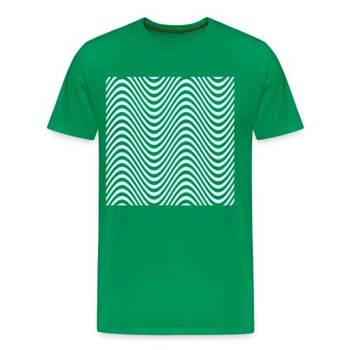 100%COTTON REFLECTIVE DESIGN T-SHIRT - Men's Premium T-Shirt
