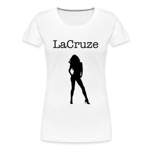 LaCruze Black & White - Frauen Premium T-Shirt