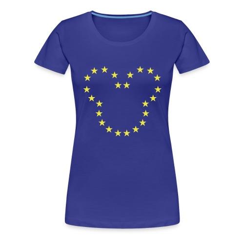 The European Kingdom™ - Women's Premium T-Shirt
