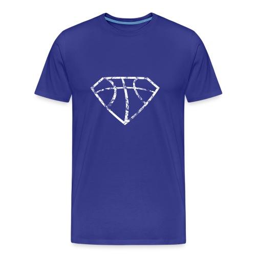 Basketball, Vintage, Used Look - Männer Premium T-Shirt