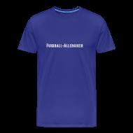 T-Shirts ~ Männer Premium T-Shirt ~ Fußball Allergiker | Männer Shirt