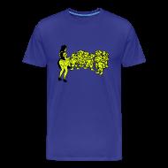 T-shirts ~ Mannen Premium T-shirt ~ SneeWitje en de geile dwergen