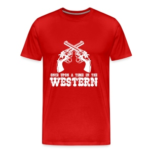 Once Upon a Time in the Western - Men's Premium T-Shirt