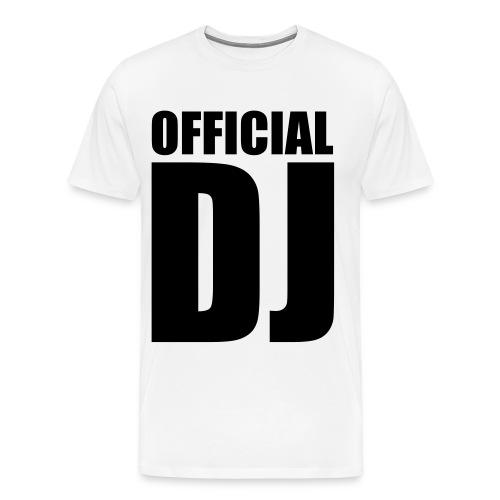 Official DJ Shirt - Männer Premium T-Shirt