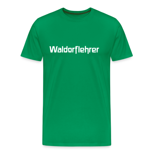 Waldorflehrer - Männer Premium T-Shirt