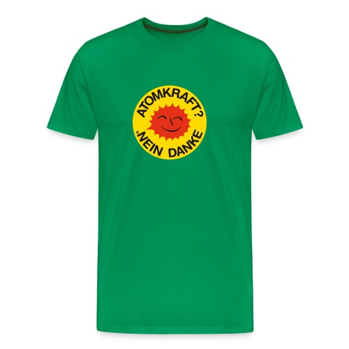 Anti-Atomkraft - Männer Premium T-Shirt