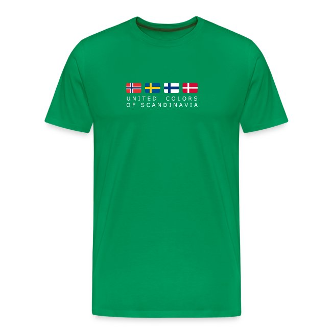 Classic T-Shirt UNITED COLORS OF SCANDINAVIA white-lettered
