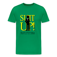 Camisetas ~ Camiseta premium hombre ~ How I Met Your Mother - suit up! because tonight will be legend... (wait for it)... dary!