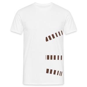 Mimimalist Cut Out - Men's T-Shirt