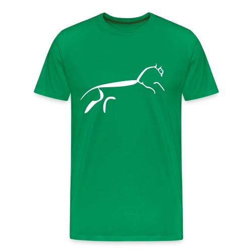 Neolithic Chalk Horse - Men's Premium T-Shirt