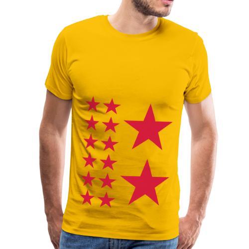 Red Stars T-shirt Homme. - T-shirt Premium Homme