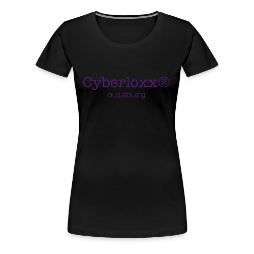 Statement - Glow in the dark - Frauen Premium T-Shirt