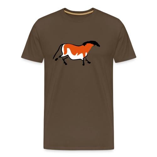 Neolithic Horse - Men's Premium T-Shirt