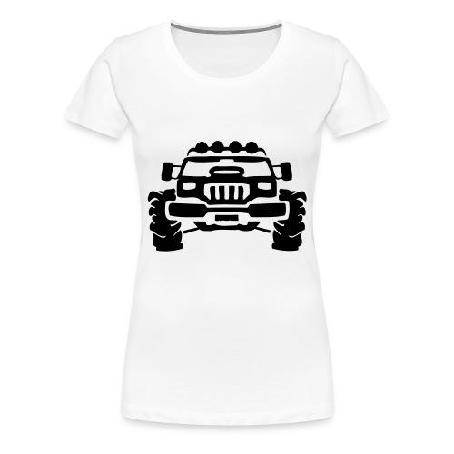 OFF THE TRAKS - Women's Premium T-Shirt