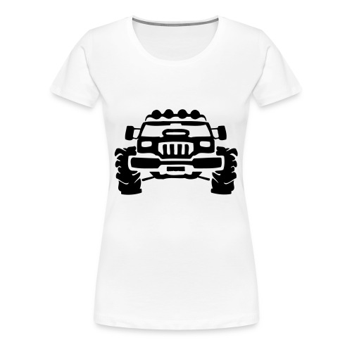 OFF THE TRAKS - Women's Premium T-Shirt