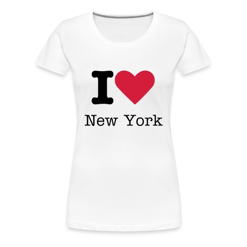 I Heart New York T-Shirt - Women's Premium T-Shirt