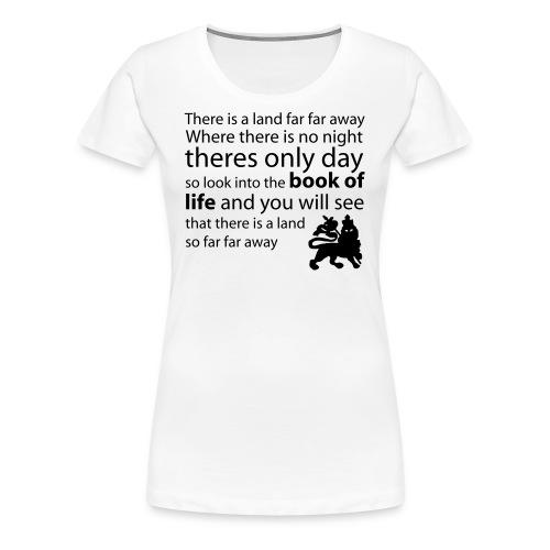 Girlie-Top - Frauen Premium T-Shirt