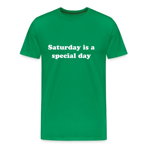Saturday Men's Classic Tee - Men's Premium T-Shirt