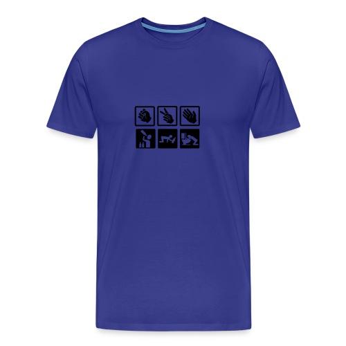 Stein 2 - Premium T-skjorte for menn