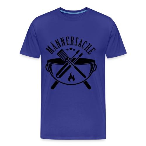 Männersache - Männer Premium T-Shirt