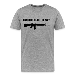 RANGERS LEAD THE WAY - Men's Premium T-Shirt