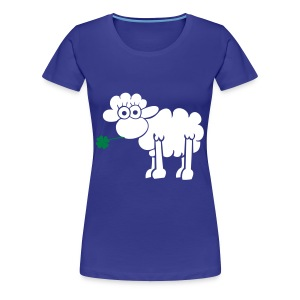 Blue sheep tee - Women's Premium T-Shirt