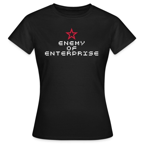 Enemy of Enterprise - Women's T-Shirt