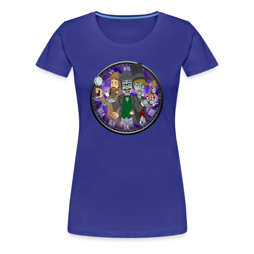 Sherlock Cast - Women's Shirt (Custom Colour) - Women's Premium T-Shirt