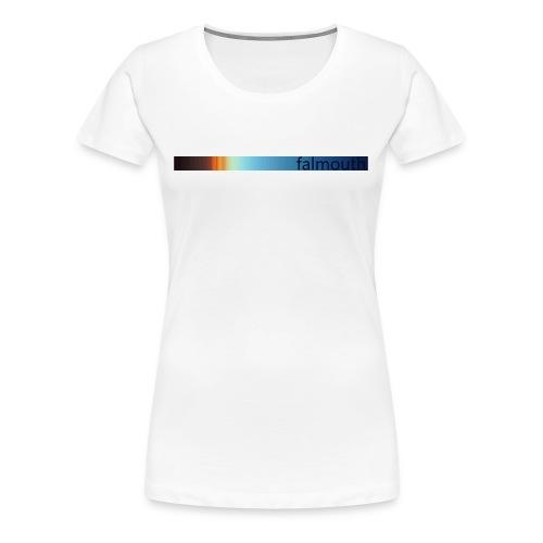Surf Cornwall Spectrum t-shirt - Women's Premium T-Shirt