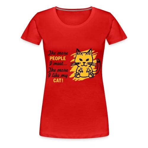 Pussy - Vrouwen Premium T-shirt