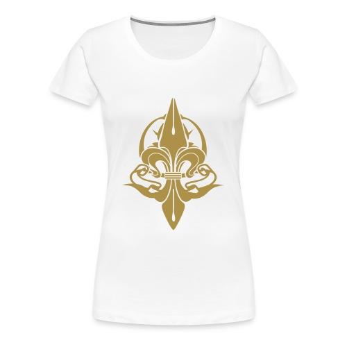 CHIC LYS PARIS OR - T-shirt Premium Femme