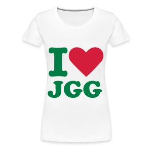 I Love Jollies - Women's Premium T-Shirt