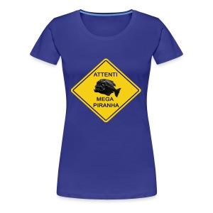 Mega Piranha  - Maglietta Premium da donna