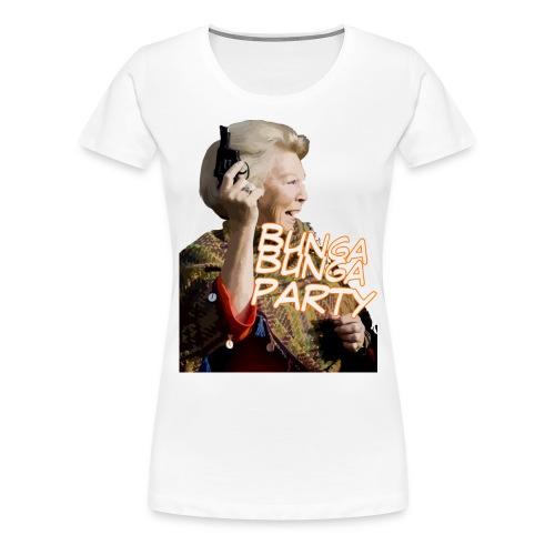 Girly shirt Bunga Bunga party - Vrouwen Premium T-shirt