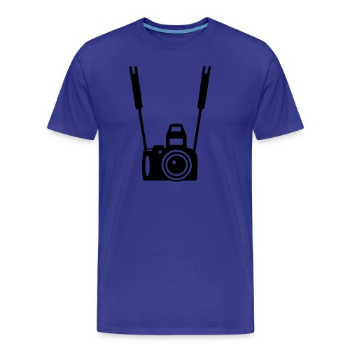 Kamera - Premium-T-shirt herr