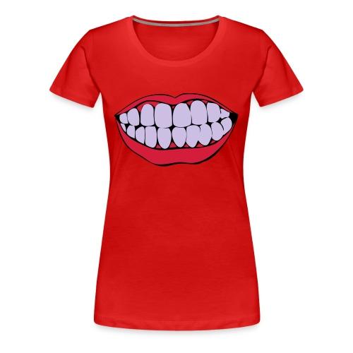 MOUTH - Maglietta Premium da donna