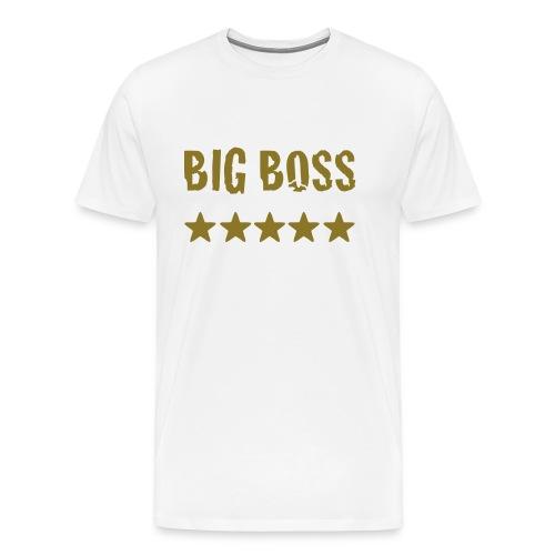 Big Boss - Männer Premium T-Shirt