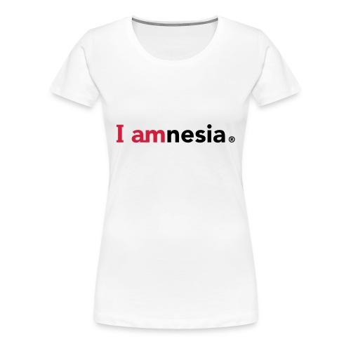 I AMnesia - Women's Premium T-Shirt
